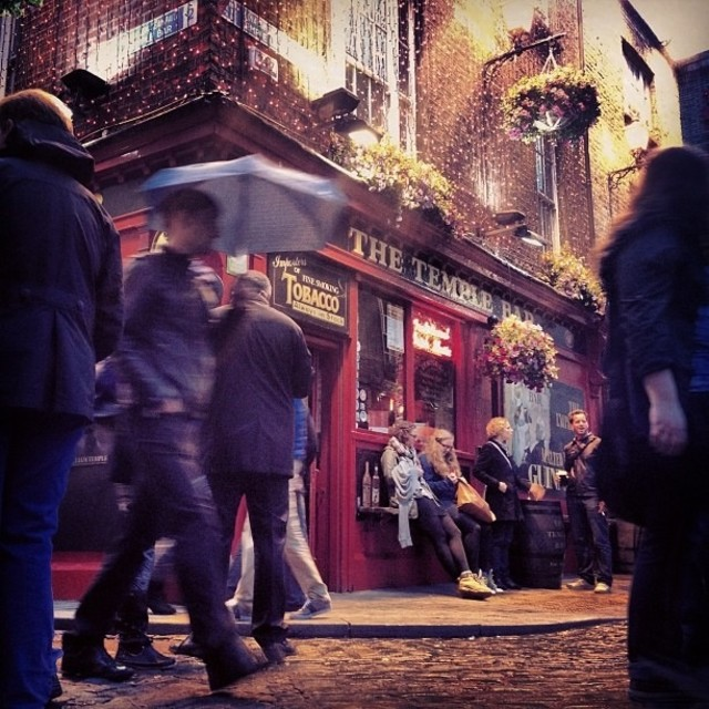 """Temple Bar, Dublin"" stock image"