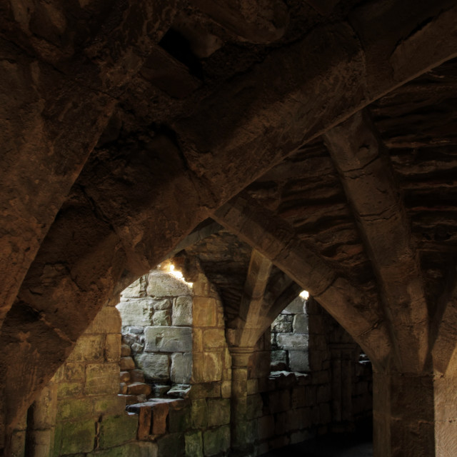 """underground crypt"" stock image"