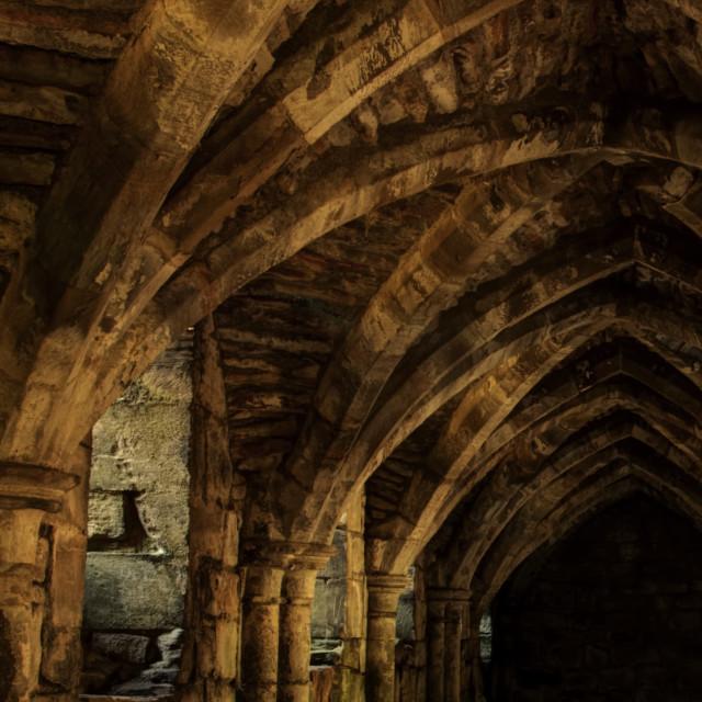"""""""underground dungeon"""" stock image"""