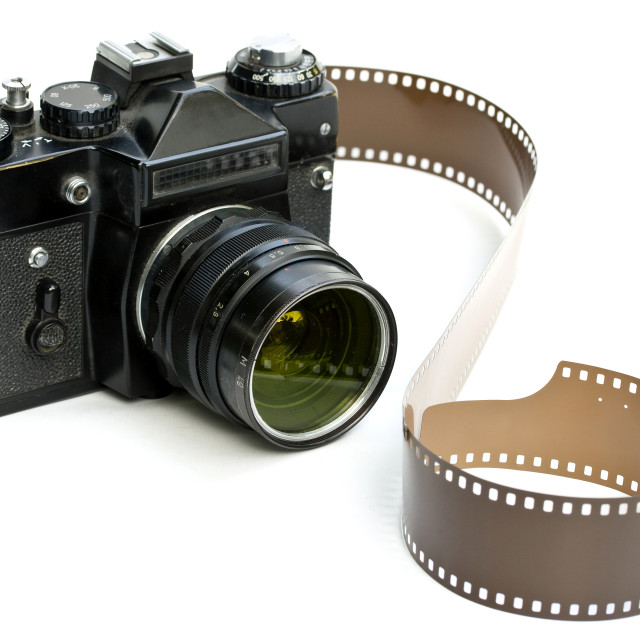 """""""Old russian camera"""" stock image"""
