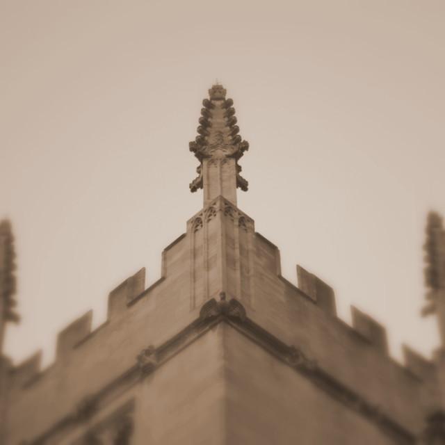 """Gothic pinnacle"" stock image"
