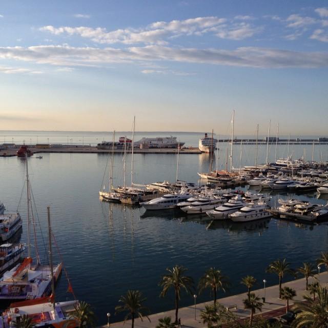 """Palma Marina"" stock image"
