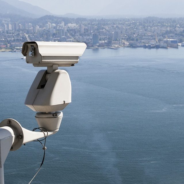 """Security Camera"" stock image"