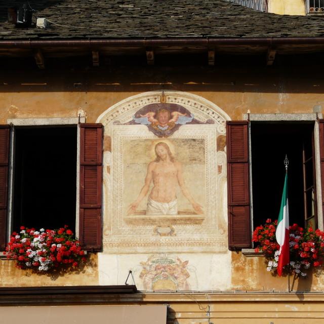 """""""Jesus fresco"""" stock image"""