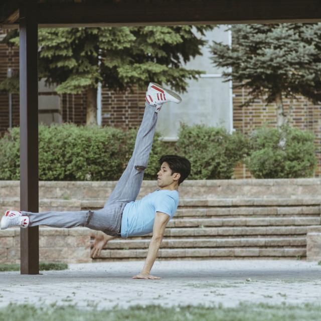 """Breakdance Files #001"" stock image"