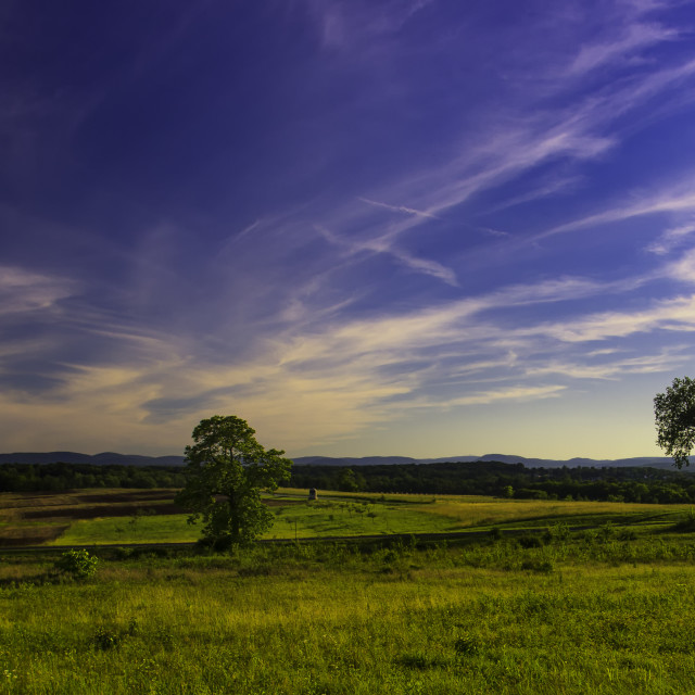 """Gettysburg Vista"" stock image"