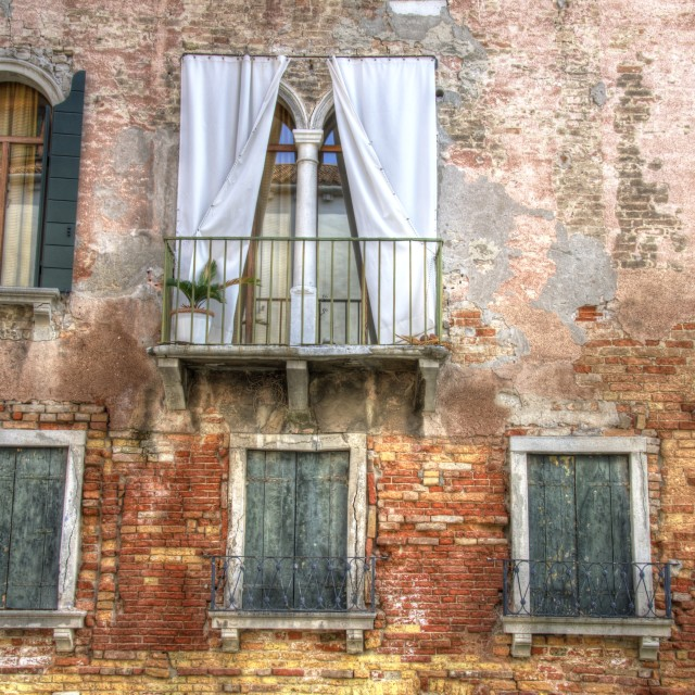 """Venetian House"" stock image"