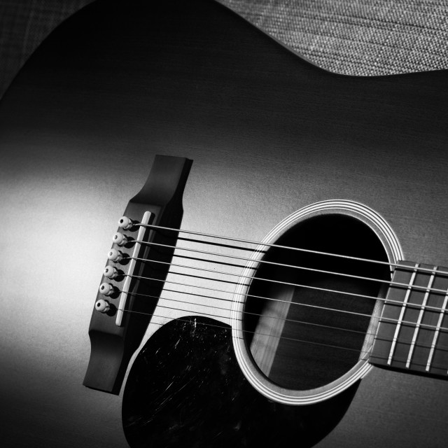 """Guitar"" stock image"