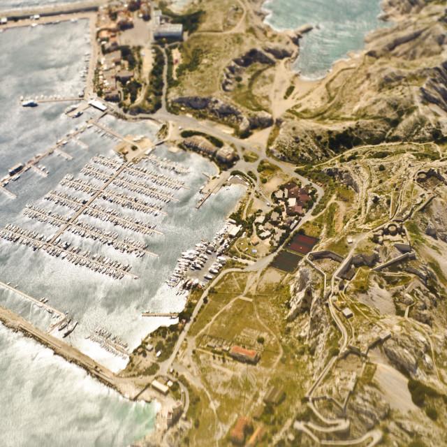 """îles du Frioul"" stock image"