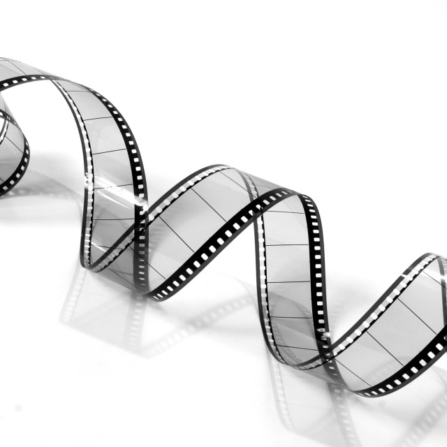 """""""Curly Film"""" stock image"""