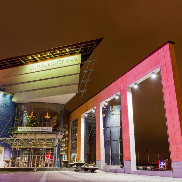 """""""GöteborgsOperan"""" stock image"""
