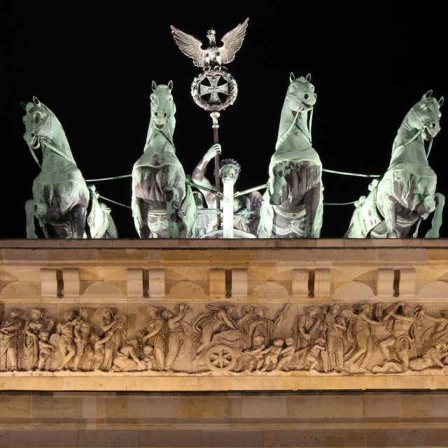 """Brandenburg Tor"" stock image"