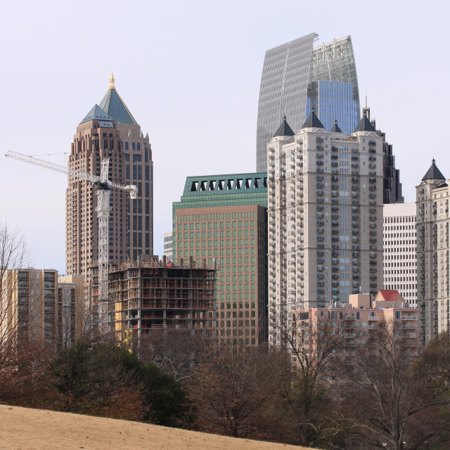 """Midtown Atlanta"" stock image"
