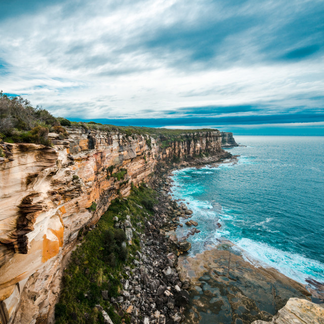 """North Head, Sydney, Australia"" stock image"