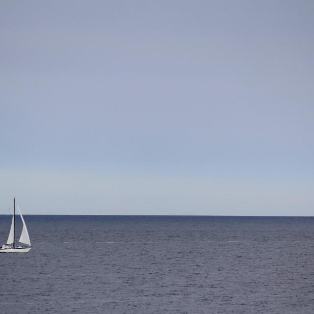 """Baltic sailing"" stock image"