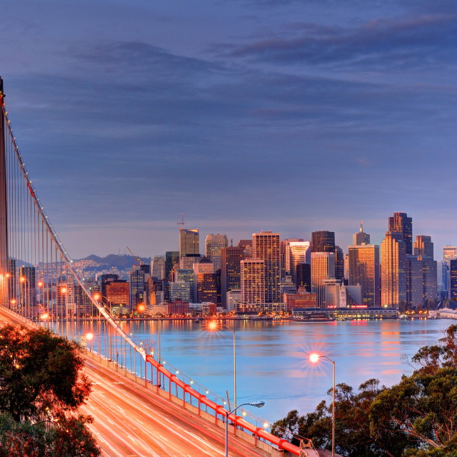 """Bay Bridge San Francisco"" stock image"