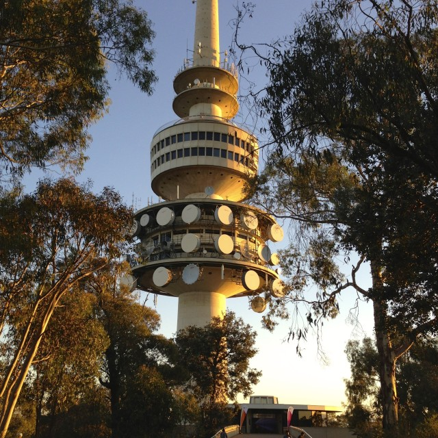 """Telstra Tower"" stock image"