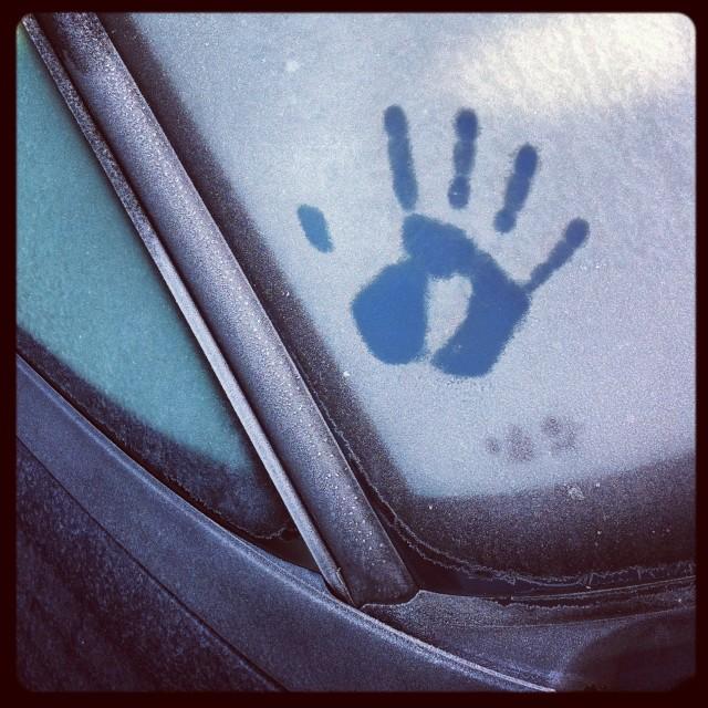 """Frosty windows"" stock image"