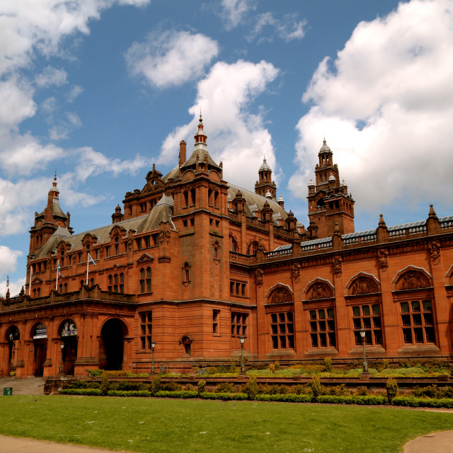 """Kelvingrove Art Gallery & Museum, Glasgow, Scotland, UK"" stock image"