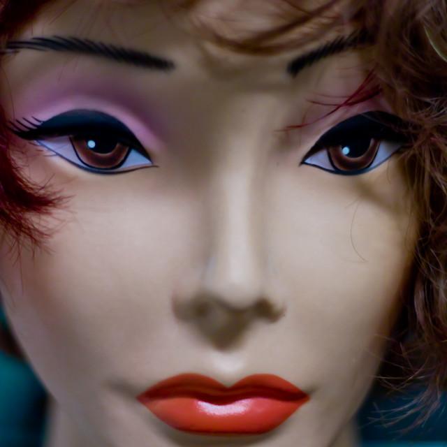 """Mannequin head"" stock image"