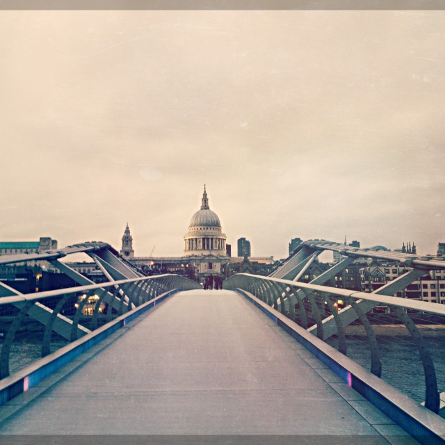 """""""St Paul's Cathederal"""" stock image"""