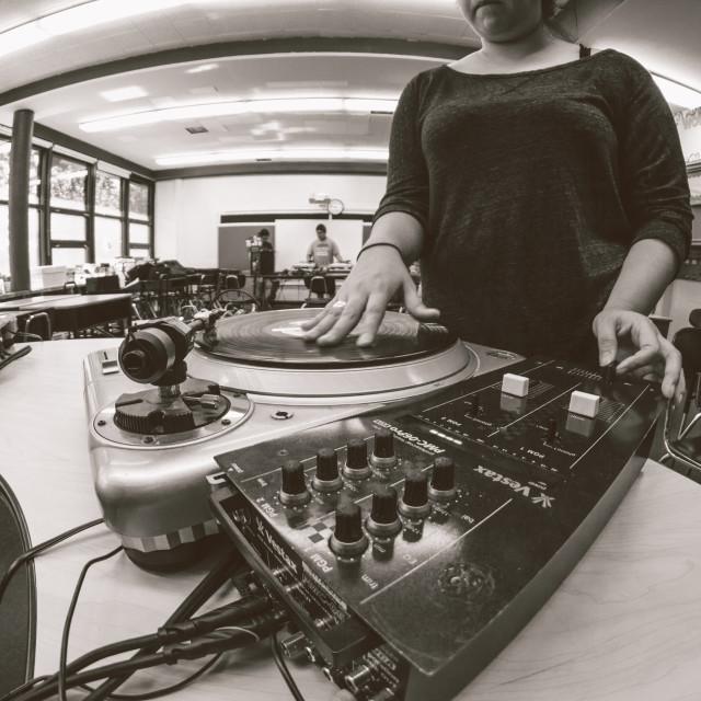 """""""DJ Files #001"""" stock image"""