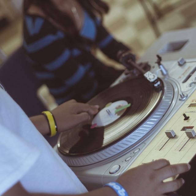 """""""DJ Files #002"""" stock image"""