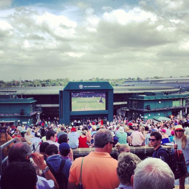 """""""Wimbledon 2013"""" stock image"""