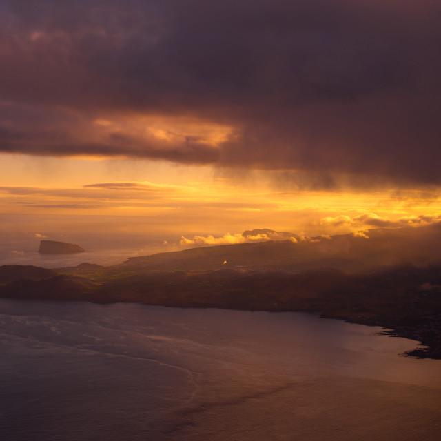 """Terceira Island"" stock image"
