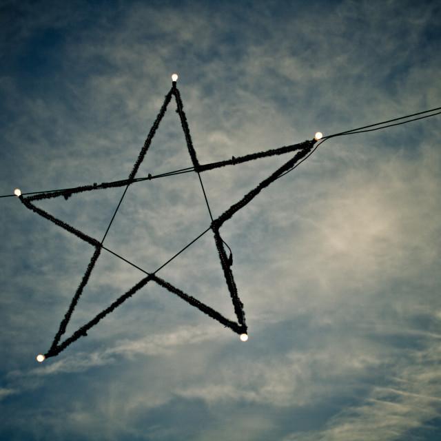 """""""Star in the Sky"""" stock image"""