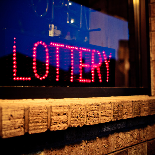 """""""Lottery"""" stock image"""