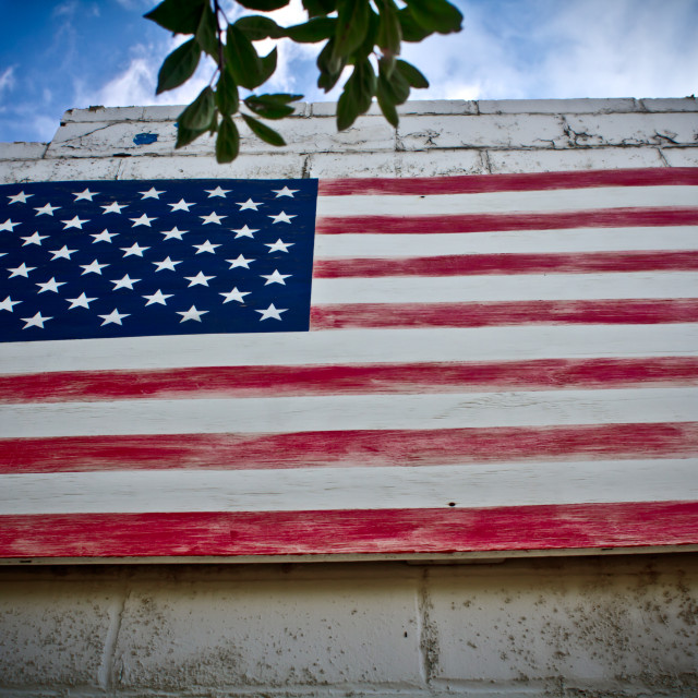 """American Flag 1"" stock image"