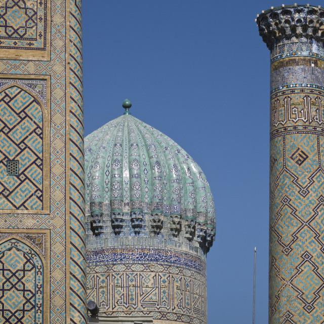 """Samarkand's Registan"" stock image"