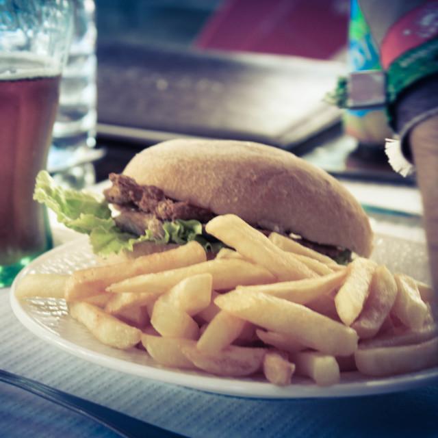 """hamburger"" stock image"