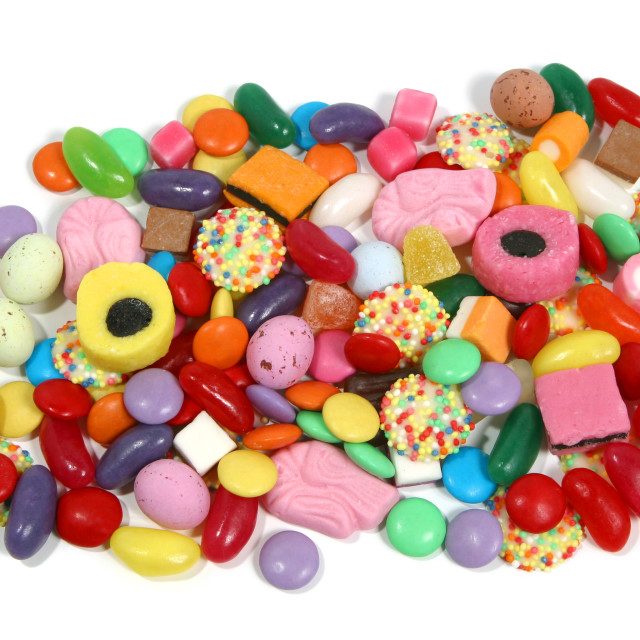 """""""Sweets"""" stock image"""