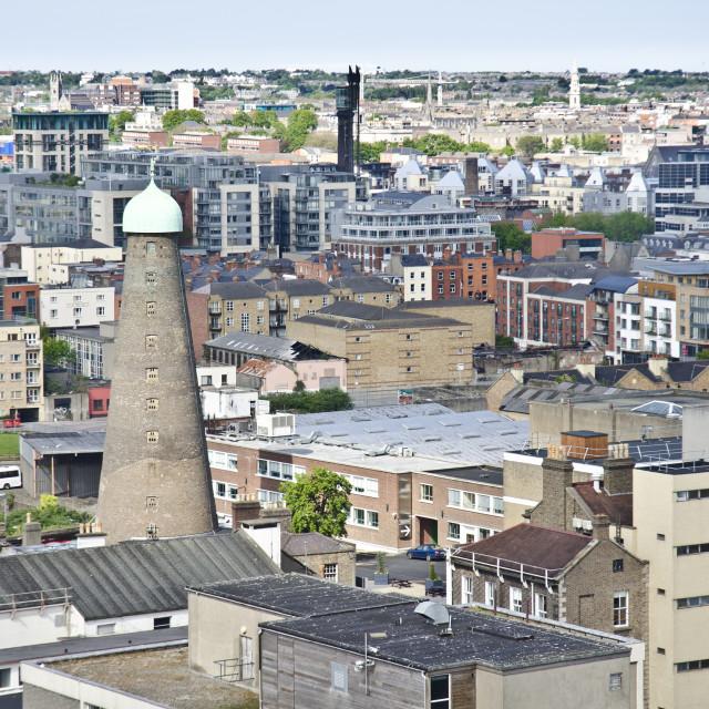 """Dublin Cityscape"" stock image"