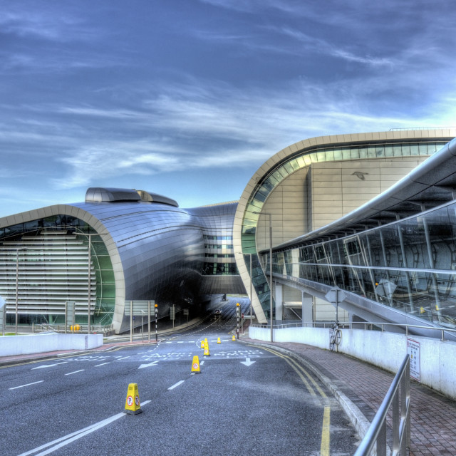 """Dublin Airport"" stock image"