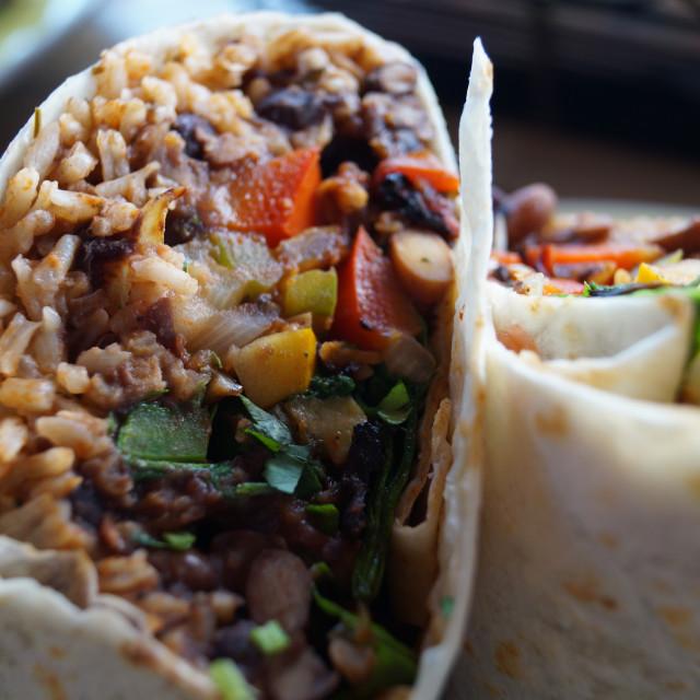 """Burrito Time"" stock image"