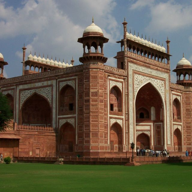"""Taj Mahal Gate"" stock image"