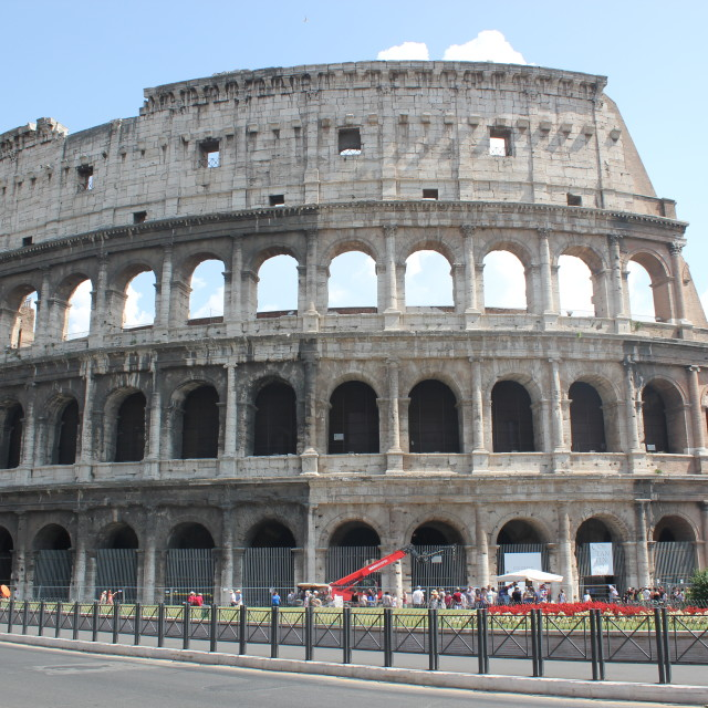 """The Colloseum"" stock image"