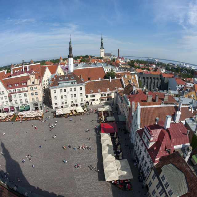 """Historic Tallinn"" stock image"