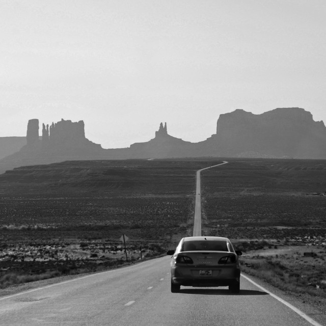 """Monument Valley, Utah"" stock image"
