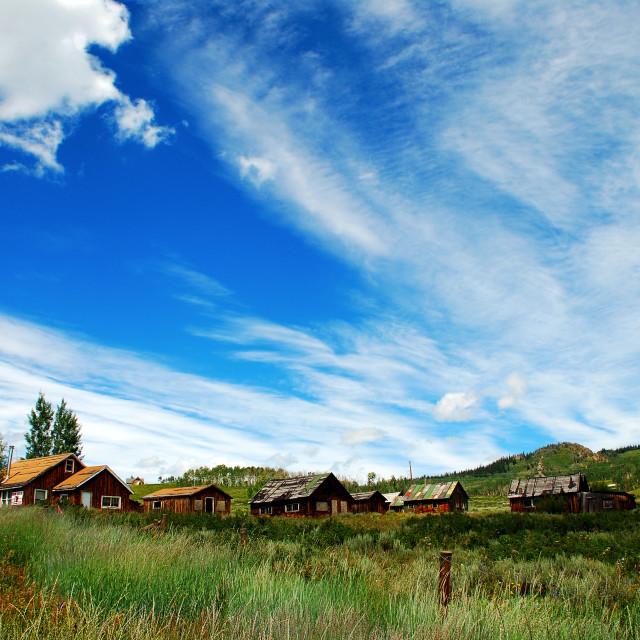 """""""Rabbit Pass, Colorado"""" stock image"""
