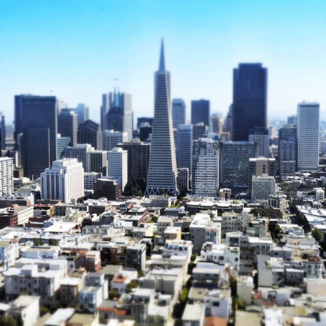 """San Fransisco"" stock image"