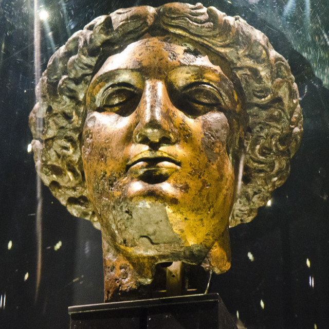 """Head of Minerva"" stock image"