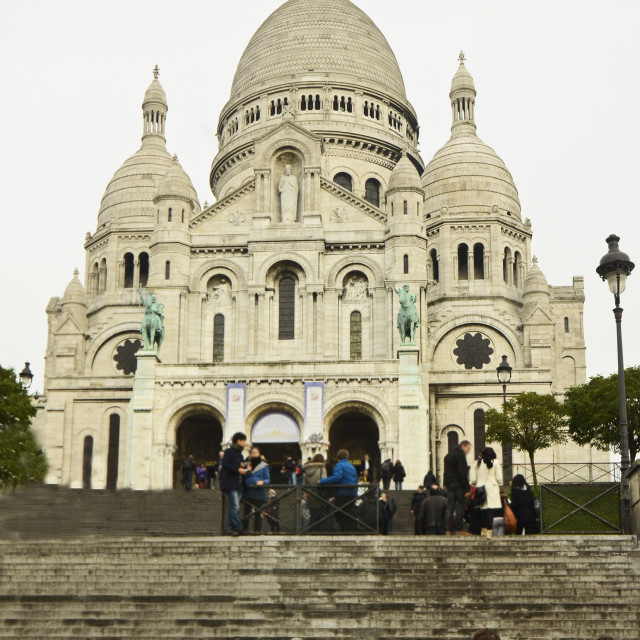 """Sacre Coeur, Paris"" stock image"