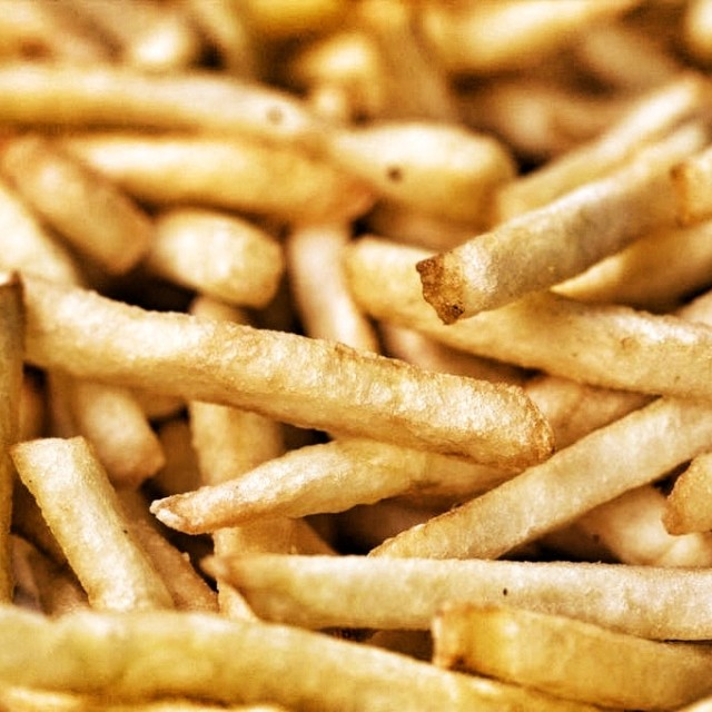 """French Fries"" stock image"