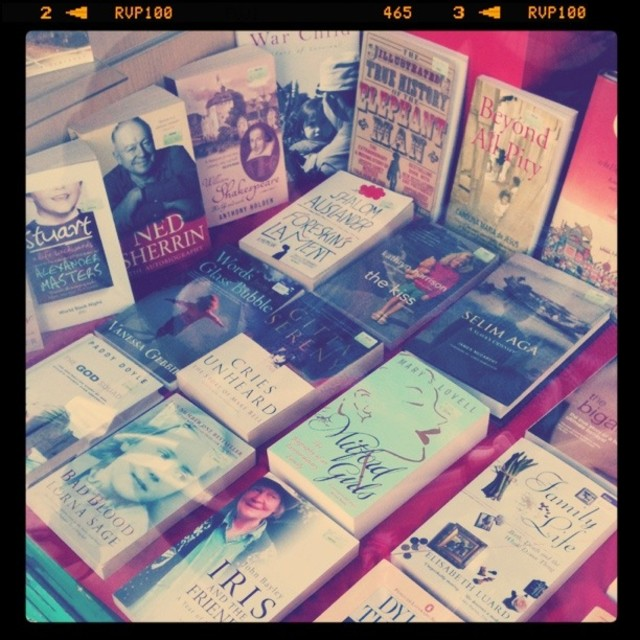 """Array of books (Retro)"" stock image"