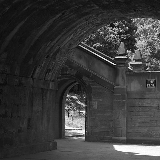 """""""Bridge, Edinburgh"""" stock image"""