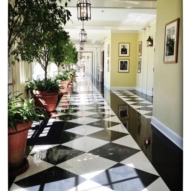"""Hotel hallway"" stock image"